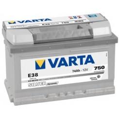 74 Ah VARTA SILVER
